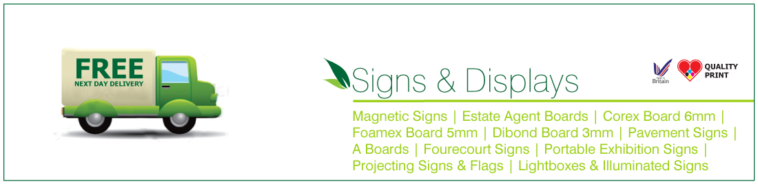 PROJECTING SIGNS & FLAGS