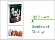 lighbox & illuminated display