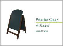 premier chalk a board wood frmae