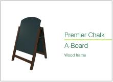 premier chalk a board wood frmae