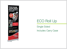eco roll banner
